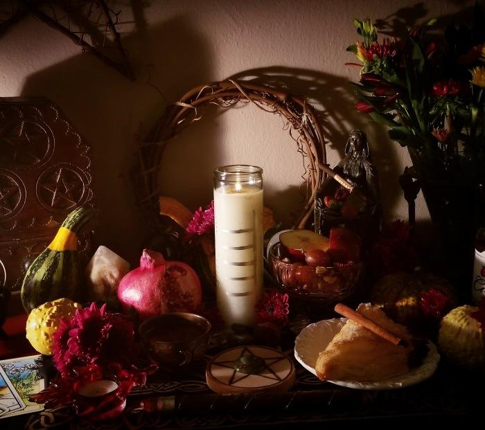 Mabon, Autumn, Equinox, Altar